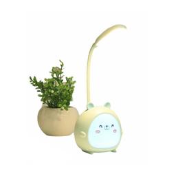 Lámpara de Mesa Diseño de Oso Color Verde