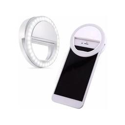 Mini Aro Luz Para Celular Blanco