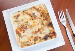 Lasagna de Verduras con pollo