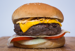 Burger Double Cheese