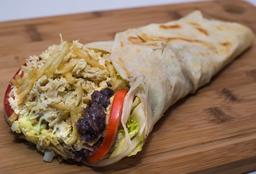 Burrito De Pollo Deshilachado
