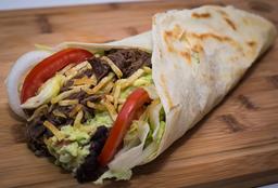 Burrito De Carne Deshilachada