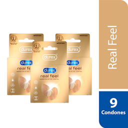 Durex Condones Real Feel