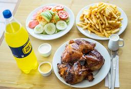 1 Pollo A La Brasa + Inca Kola 1.5 Lt