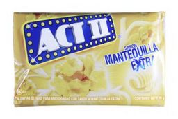 Act II Pop Corn Mantequilla 91 GR.