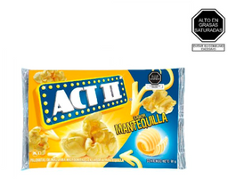 Act Ii Pop Corn De Mantequilla Por 91 G.