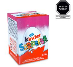 Ferrero Kinder Sorpresa Niña