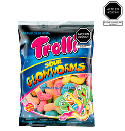 Trolli Sour Glow Worms De 100 G.