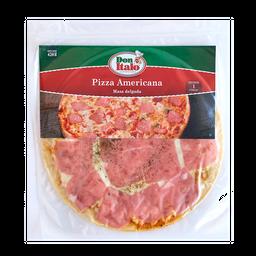 Pizza Americana Masa Delgada