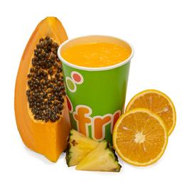 Jugo de Papaya, Piña, Naranja