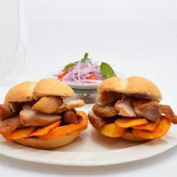 Sándwich Doble de Chicharrón