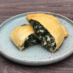 Empanada de Espinaca y Champiñones