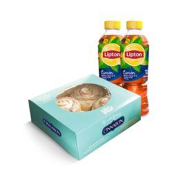 Pack 4 Minibon y Té Lipton