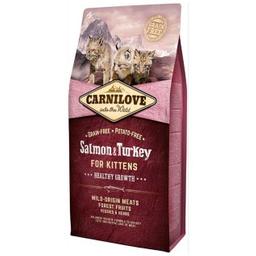 Carnilove Alimento Para Gatito Salmón y Pavo 400 g
