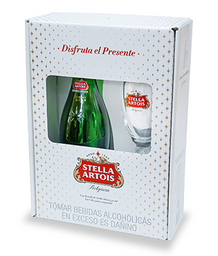 Pack Stella Artois 750 ML.+ Copa