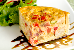 Quiche Ratatouille Con Pollo