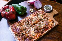 Stout & Sausage Pizza