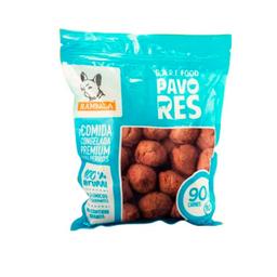 Rambala - Comida Congelada Premium para Perros - Res (Con Pavo)