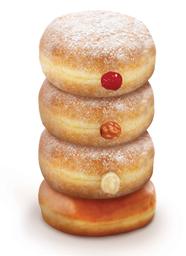 🍩 Donuts Clásicas x4