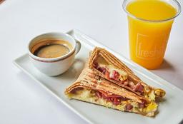 Desayuno Pocket Huevo y Tocino