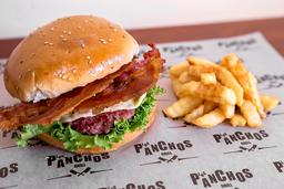 Hamburguesa Cheese And Bacon