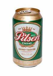 Cerveza Pilse Lata 355ml.