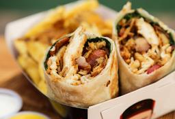 Wrap Meat Lover + Papas Fritas/Camote Frito + Bebida