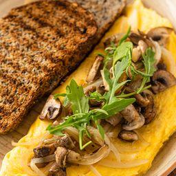 Omelette Mushroom