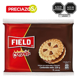 Galleta Coronita Chocolate 6X38G