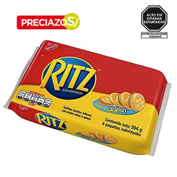 Galleta Ritz Queso Six Pack