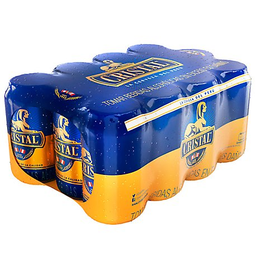 Cerveza Cristal Lata X 355 Ml Trmble X 12 Und