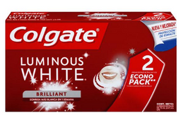 Crema Den Colgate Luminous White Brill Caj 75Mlx2