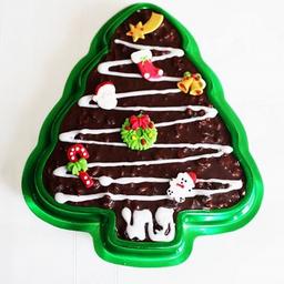 Turrón de chocolate (árbol de navidad)