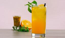 Maracuyá con naranja casera