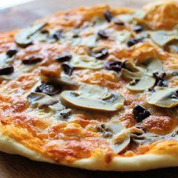 Pizza Champiñón Familiar