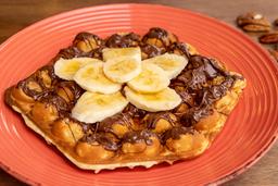 Bubble Waffle Nutella c/Fresa o Platano