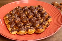 Bubble Waffle con Nutella