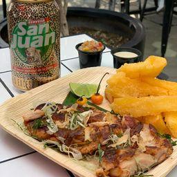 Pollo Canga y 1 San Juan 355 ml