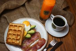 Desayuno Mokawaffles