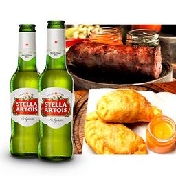 Combo Chorizo y Stella Artois 330 ml