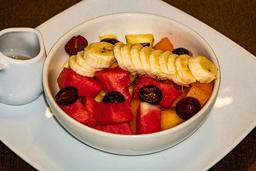 Ensalada de Frutas con Yogurt y Miel