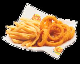 1/2 Rings & 1/2 Fries