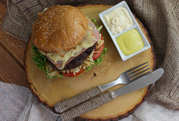Hamburguesa de Carne Moka