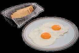 Huevos Fritos Simples