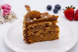 Cake de Almendras con Manjar
