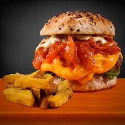 Super Prime Burger + Gaseosa Importada