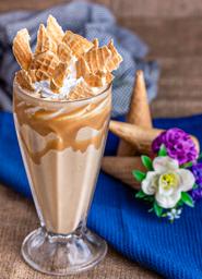 Milkshake Crunchy Vainilla