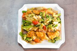 Pollo Enrollado con Verduras