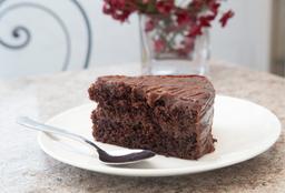 Porción de  Torta de Chocolate