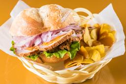 Sandwich con Jugo